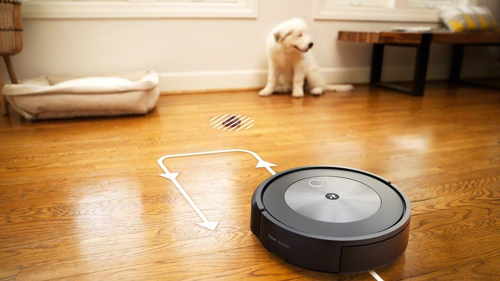 A messy accident avoided, as visualised by iRobot