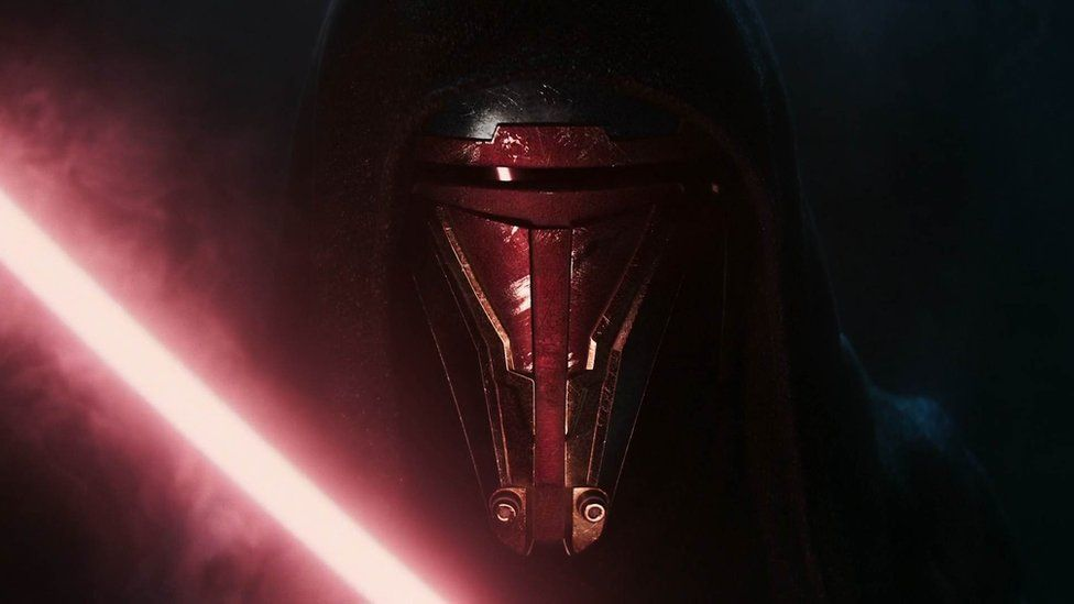 Star Wars Knights of the Old Republic was the first teaser shown