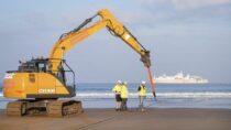 «Огромный» трансатлантический кабель для передачи данных приземлился на пляже в Буде