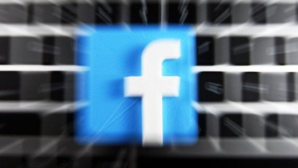 Image caption, Facebook said the research compromised user privacy
